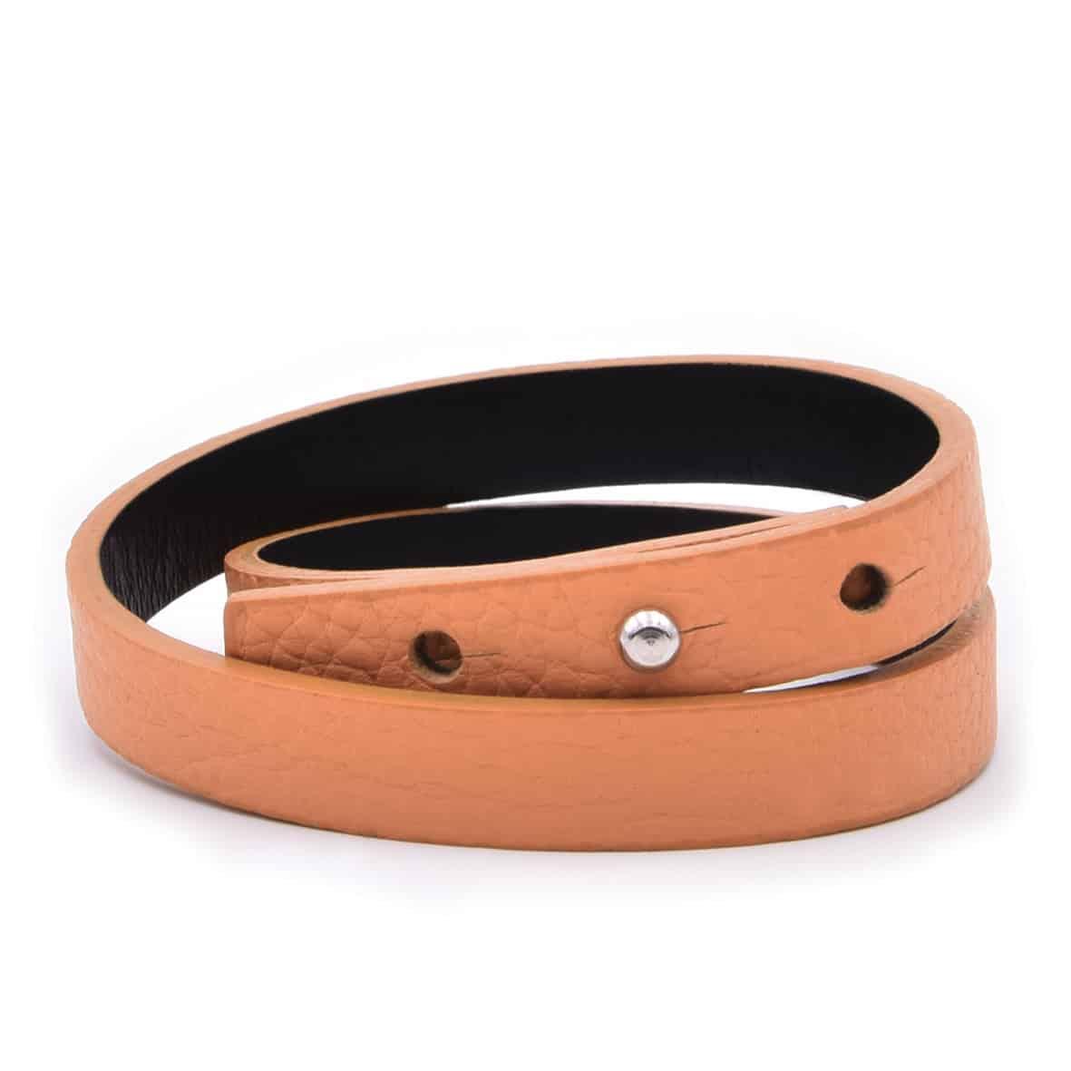 Bracelet entoure orange